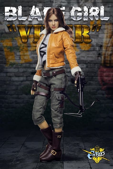 EnToys 1:6 Scale Blade Girl Viper Female Action Figure