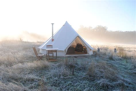 Glamping - luxury camping in Daylesford, Victoria - Cosy