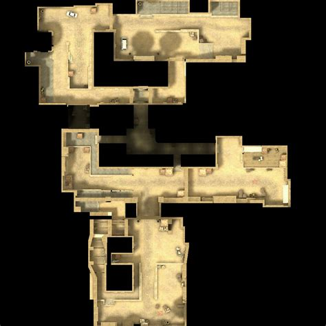 Counter-Strike Map Overviews and Counter-Strike Source Map