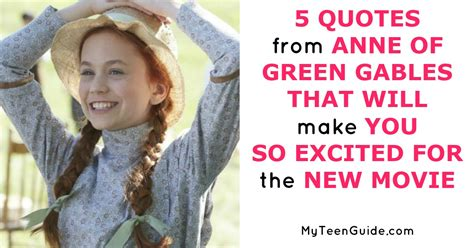 Quotes From Anne Of Green Gables That Will Make You So Excited