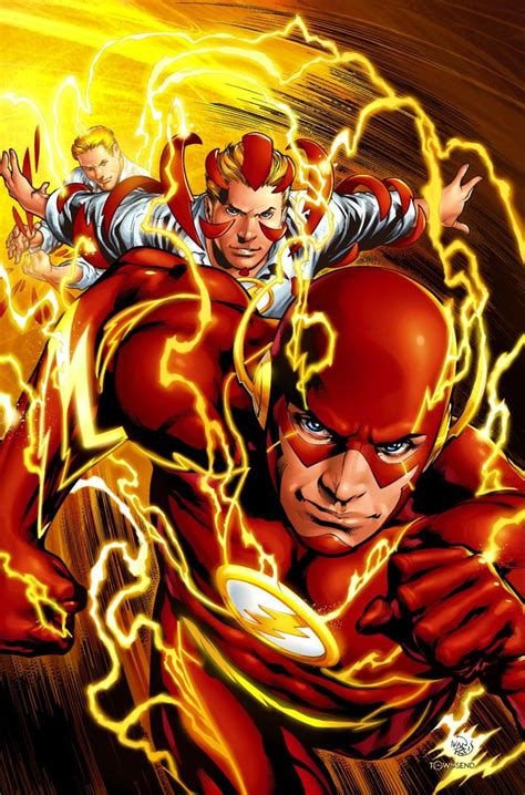 The Flash: A Guide to DC's Speedsters - IGN