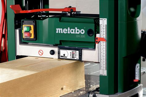 DH 330 (0200033019) Bench Thicknesser | Metabo Power Tools