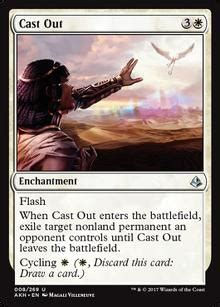 Revealing the white Amonkhet Remastered cards coming to