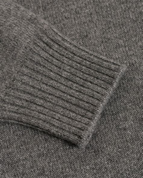 Johnstons of Elgin Heavy Knitted Cashmere Crew Neck