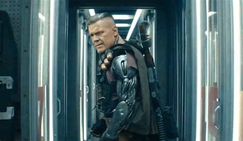 Deadpool drops a Goonies reference as he takes on Cable in