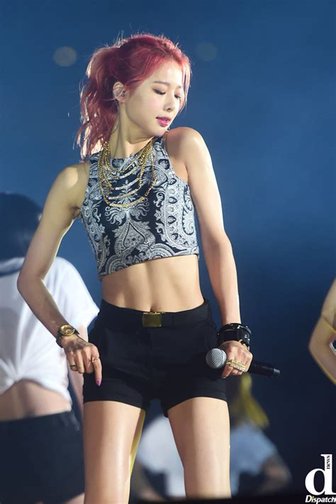 'I'm the Queen of Six pack'…Girl group member's Hot abs