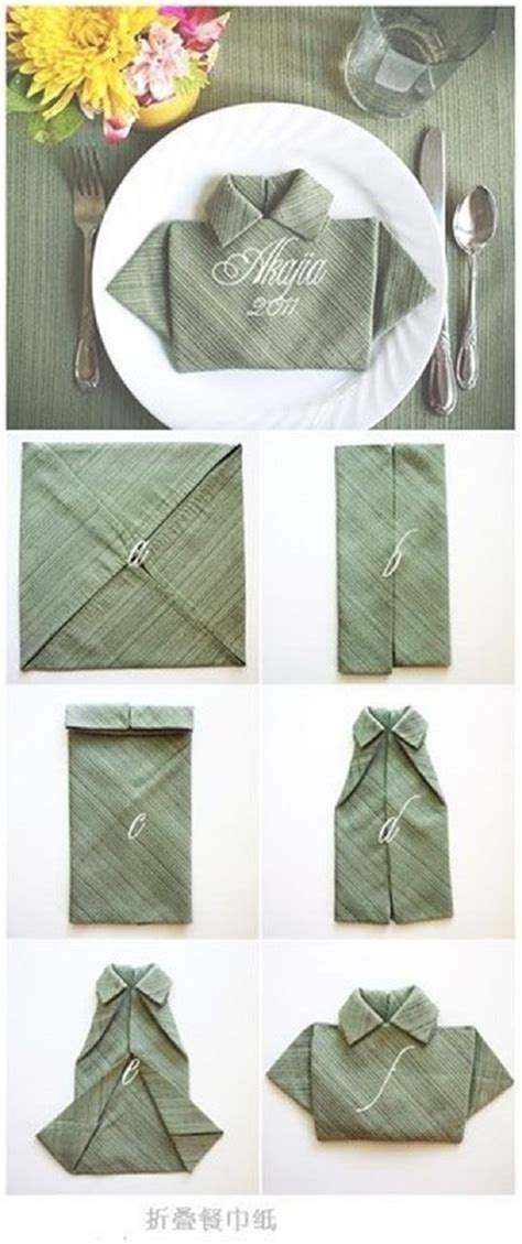 25+ Napkin Folding Techniques That Will Transform Your