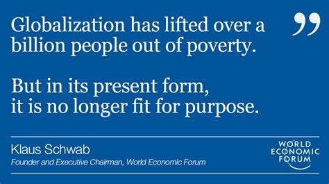 Klaus Schwab: We need a new narrative for globalization