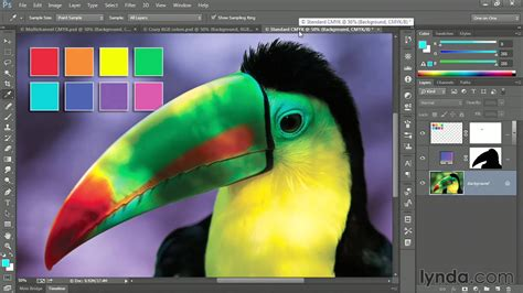 Photoshop tutorial: Converting from RGB to CMYK via