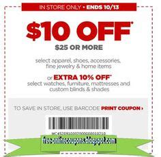 Free Printable JcPenney Coupons | Jcpenney coupons, Print