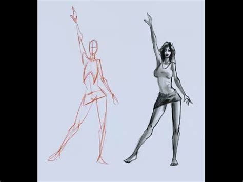 How to draw the female figure from your mind -- no