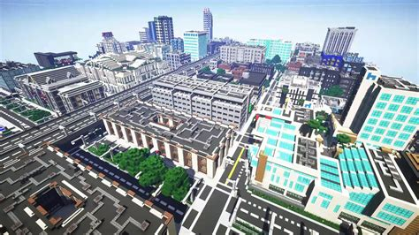 """JerenVids on Twitter: """"Greenfield city in #Minecraft by"""