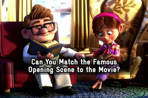 Can You Match the Famous Opening Scene to the Movie