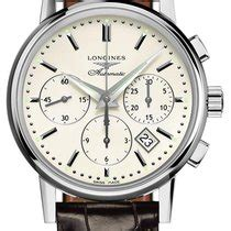 Longines Column-Wheel Chronograph - all prices for