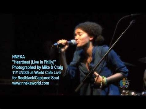 Nneka - Heartbeat (Live In Philly) HD