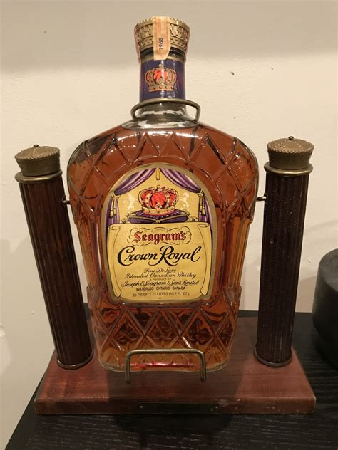 Help Determine Value For 1968 Crown Royal Half Gallon On
