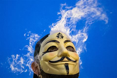 Anonymous Million Mask March: Photos of Guy Fawkes