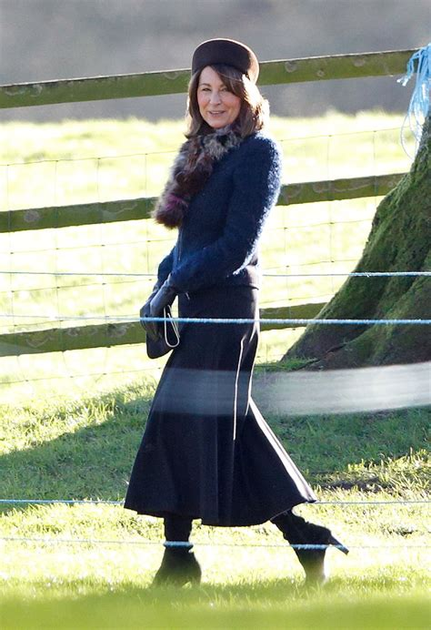But It Was Her Mom, Carole Middleton, That Really Stood