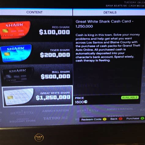 PSA: Cash cards are up and running : GrandTheftAutoV