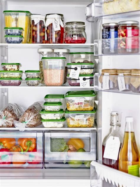 PRUTA Food container, set of 17 - clear, green | Fridge