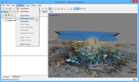 Converting a video to georeferenced 3D model tutorial