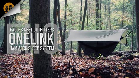 ENO OneLink Hammock System • Field Review - YouTube