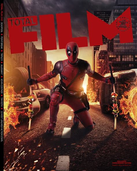 DEADPOOL Breaks All The Rules In New Stills From Total