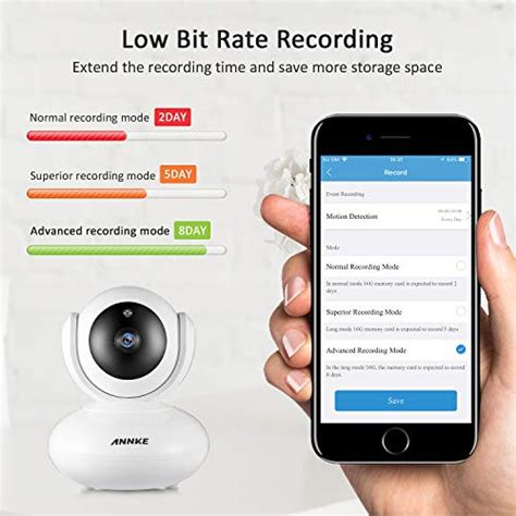Annke 1080P Wireless Security IP Camera with Two-Way Audio
