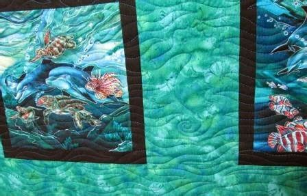 Cathy Tomm Quilts: Sea Life Quilt