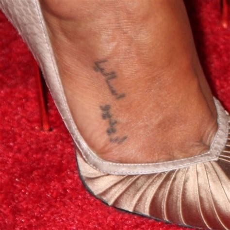 10 Celebrities Arabic Tattoo Designs And Meanings