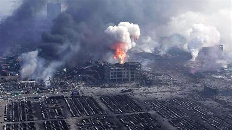 The Tianjin Explosion Caused by Pentagon Space Weapons