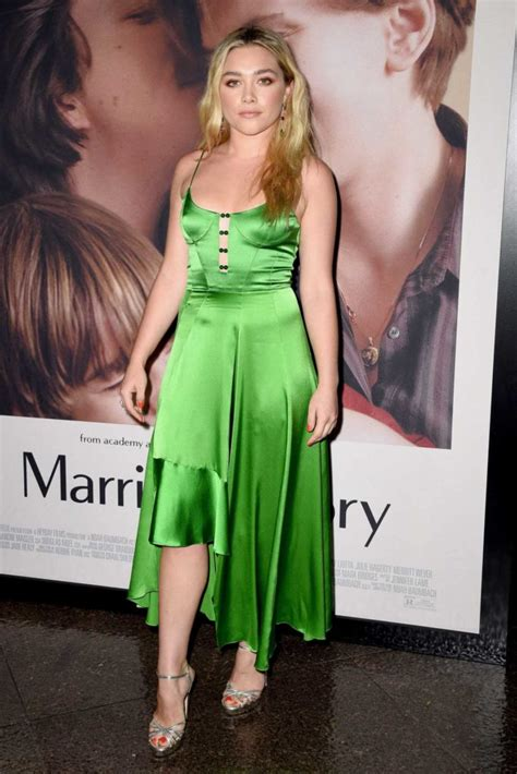 Florence Pugh Attends Netflix's Marriage Story Premiere at
