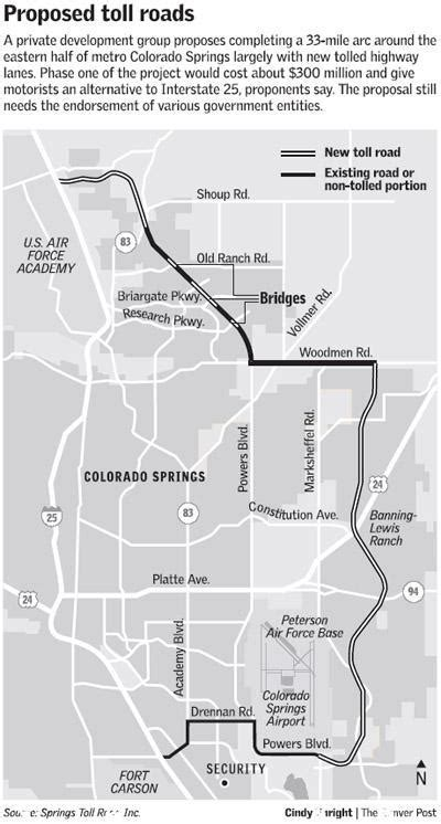 25 Toll Roads In Colorado Map - Maps Online For You
