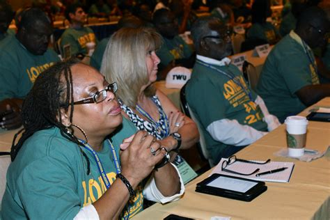 TWU Convention   Delegates to the TWU 24th Constitutional