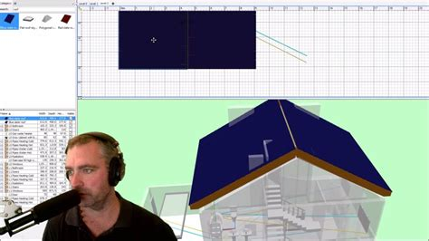 Sweet Home 3D Roof Tutorial - YouTube