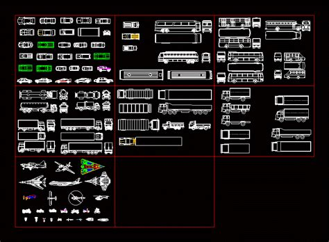 Vehicles in AutoCAD   Download CAD free (1