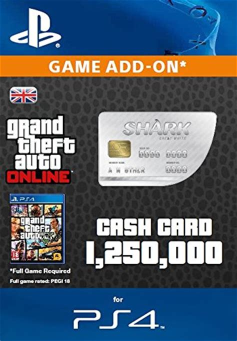 Grand Theft Auto Online: Great White Shark Cash Card [PS4